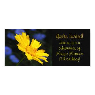 Yellow Flower Invitations