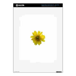 Yellow Flower iPad 3 Skin