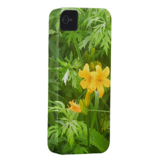 Yellow flower iPhone 4 cases