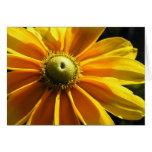 Yellow Flower: Irish Eyes Card