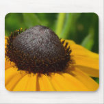 Yellow Flower Macro Mouse Pad