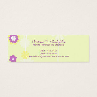 Yellow Flower Mommy Cards