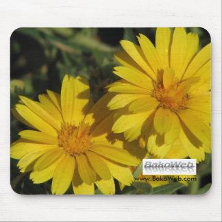 Yellow Flower Mousepad