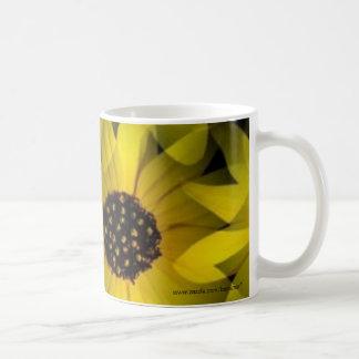 Yellow Flower Mugs