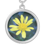 yellow flower necklaces