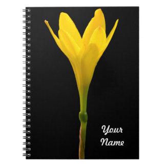 Yellow Flower Notebook
