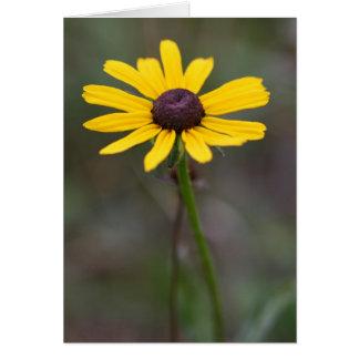 Yellow Flower Notecard Cards