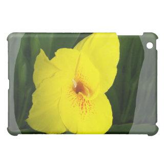 Yellow Flower Orange square Case For The iPad Mini