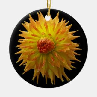 Yellow Flower Ornament