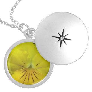 Yellow Flower Pendants