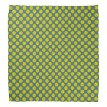 Yellow Flower Ribbon Bandana