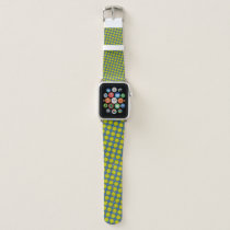 Yellow Flower Ribbon by Kenneth Yoncich Apple Watch Band