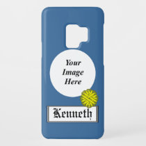 Yellow Flower Ribbon by Kenneth Yoncich Case-Mate Samsung Galaxy S9 Case