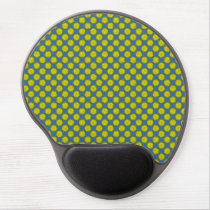 Yellow Flower Ribbon by Kenneth Yoncich Gel Mouse Pad