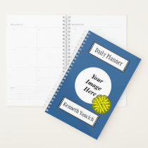 Yellow Flower Ribbon by Kenneth Yoncich Planner