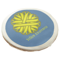 Yellow Flower Ribbon by Kenneth Yoncich Sugar Cookie