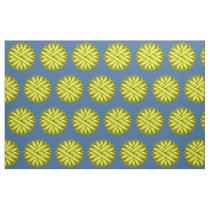 Yellow Flower Ribbon Fabric