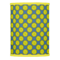 Yellow Flower Ribbon Lamp Shade