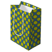 Yellow Flower Ribbon Medium Gift Bag
