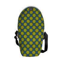Yellow Flower Ribbon Messenger Bag