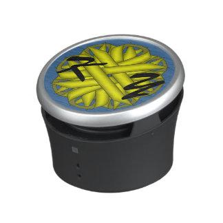 Yellow Flower Ribbon Speaker