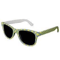 Yellow Flower Ribbon Sunglasses