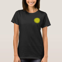 Yellow Flower Ribbon T-Shirt