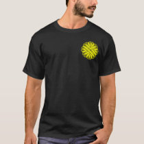 Yellow Flower Ribbon T-Shirt