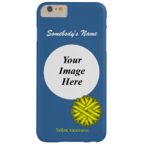 Yellow Flower Ribbon Template by Kenneth Yoncich Barely There iPhone 6 Plus Case