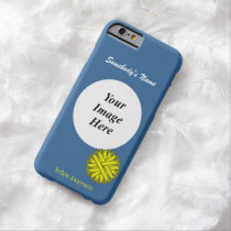 Yellow Flower Ribbon Template by Kenneth Yoncich Barely There iPhone 6 Case