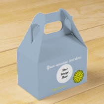 Yellow Flower Ribbon Template by Kenneth Yoncich Favor Box