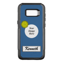 Yellow Flower Ribbon Template by Kenneth Yoncich OtterBox Commuter Samsung Galaxy S8  Case