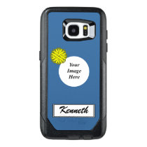 Yellow Flower Ribbon Template by Kenneth Yoncich OtterBox Samsung Galaxy S7 Edge Case