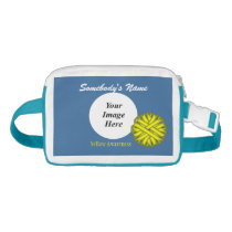 Yellow Flower Ribbon Template Fanny Pack