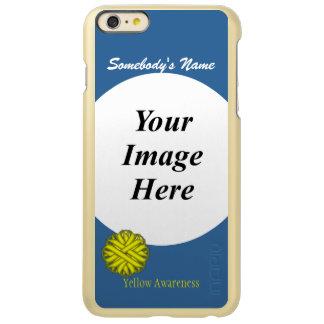 Yellow Flower Ribbon Template Incipio Feather Shine iPhone 6 Plus Case