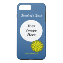 Yellow Flower Ribbon Tmpl by Kenneth Yoncich iPhone 8 Plus/7 Plus Case