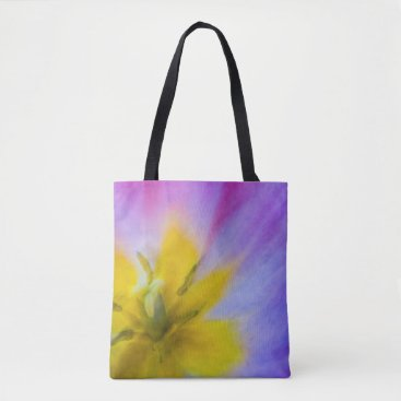 Beach Themed Yellow Flower Tote