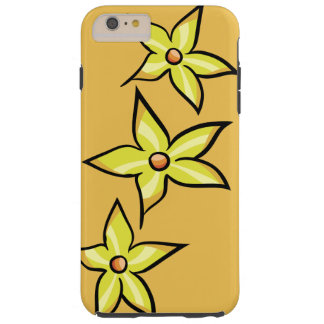 Yellow Flower Tough iPhone 6 Plus Case