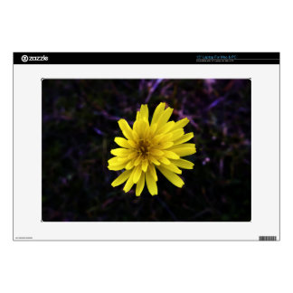 """Yellow Flower Up-close Skin For 15"""" Laptop"""