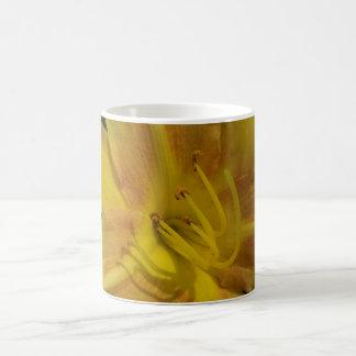 Yellow flower uplifting mug