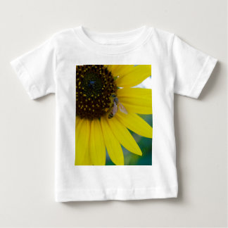 Yellow Flower with Bee Tshirt