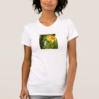 Yellow Flower with Humming Bee T-Shirt