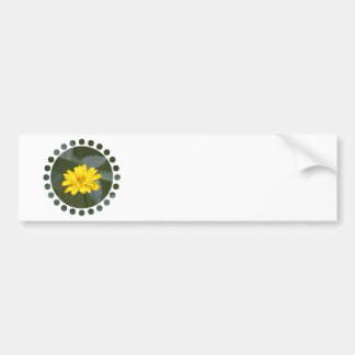 Yellow Flowers Bumper Stickers