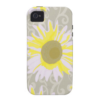 Yellow Flowers iPhone 4 Cases