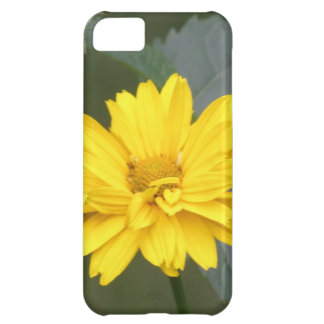 Yellow Flowers Cover For iPhone 5C
