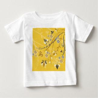 Yellow Flowers & Filagree Shirts