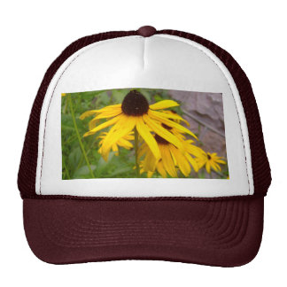 Yellow Flowers Hat