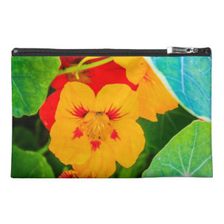 Yellow Flowers in a Row Travel Accessories Bags
