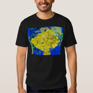 Yellow Flowers in Blue Lagoon gifts. Shirt