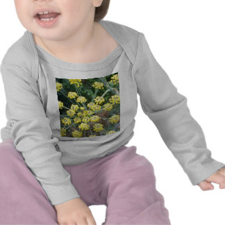 Yellow Flowers Infant Long-Sleeved T-shirt
